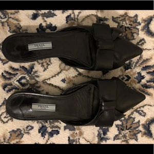 Prada Bow Slides size 38